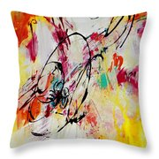 Abstract #118 Throw Pillow