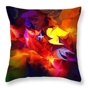 Abstract 120711 Throw Pillow