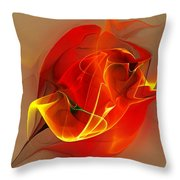 Abstract 121111 Throw Pillow