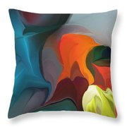 Abstract 122211 Throw Pillow