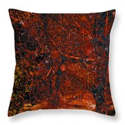 Abstract 125 Throw Pillow