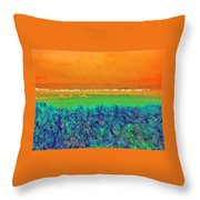 Abstract 133 Throw Pillow