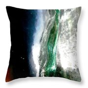 Abstract 1363 Throw Pillow