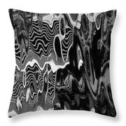 Abstract 13b Throw Pillow