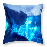 Abstract 1419 Throw Pillow