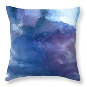 Abstract 1505 Throw Pillow
