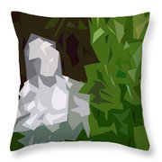 Abstract 154 Throw Pillow