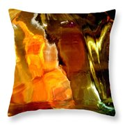 Abstract 1690 Throw Pillow