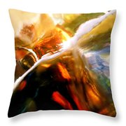 Abstract 1692 Throw Pillow