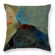 Abstract 170006 Throw Pillow
