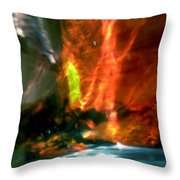 Abstract 1709 Throw Pillow