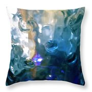 Abstract 1725 Throw Pillow