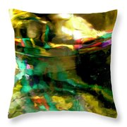 Abstract 1749 Throw Pillow
