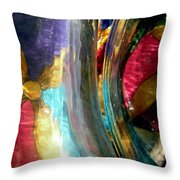 Abstract 1776 Throw Pillow