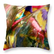 Abstract 1777 Throw Pillow