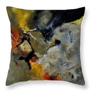 Abstract 181121 Throw Pillow