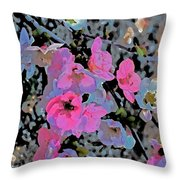 Abstract 183 Throw Pillow