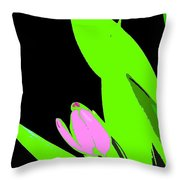 Abstract 184 Throw Pillow