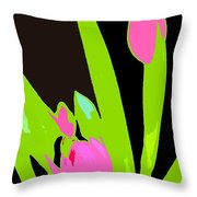 Abstract 185 Throw Pillow