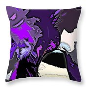 Abstract 190 Throw Pillow