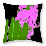 Abstract 194 Throw Pillow
