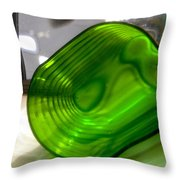 Abstract 1995 Throw Pillow