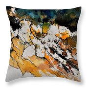 Abstract 210152 Throw Pillow