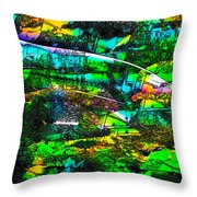 Abstract 241 Throw Pillow