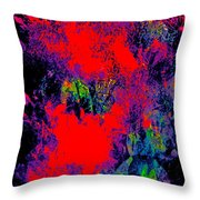Abstract 248 Throw Pillow