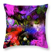 Abstract 252 Throw Pillow