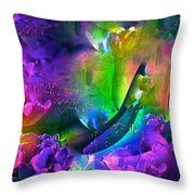 Abstract 255 Throw Pillow