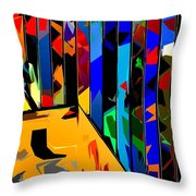 Abstract 26 Throw Pillow