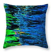 Abstract 262 Throw Pillow