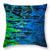Abstract 265 Throw Pillow