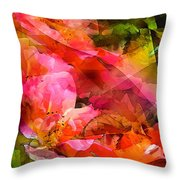 Abstract 273 Throw Pillow