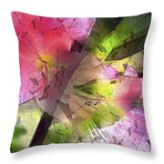 Abstract 280 Throw Pillow