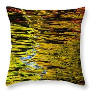 Abstract 301 Throw Pillow