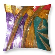 Abstract 3085 Throw Pillow