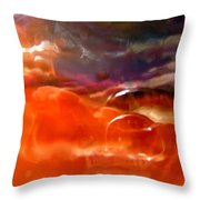 Abstract 3290 Throw Pillow