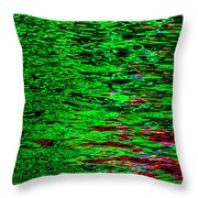Abstract 390 Throw Pillow