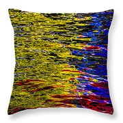 Abstract 398 Throw Pillow