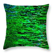 Abstract 405 Throw Pillow