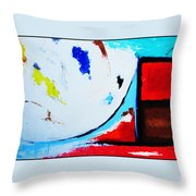 Abstract  6 Throw Pillow by Snake Jagger