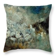 Abstract 66210101 Throw Pillow