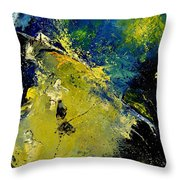 Abstract 66217090 Throw Pillow