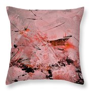 Abstract 691121 Throw Pillow