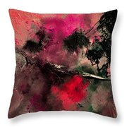 Abstract 69210102 Throw Pillow