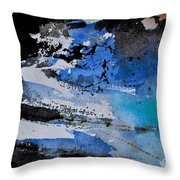 Abstract 69211050 Throw Pillow