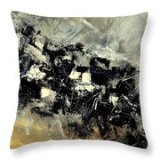 Abstract 69211120 Throw Pillow