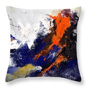 Abstract 6954238 Throw Pillow